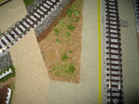 ターミナルと本線の間の空き地