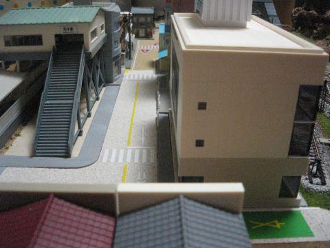 都会駅からの眺め